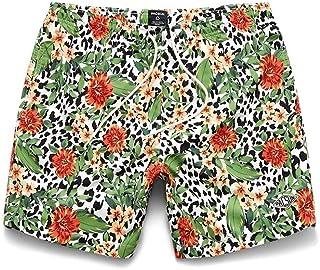 """PacSun Men's Eco Cheetah Floral 17"""" Swim Trunks"""
