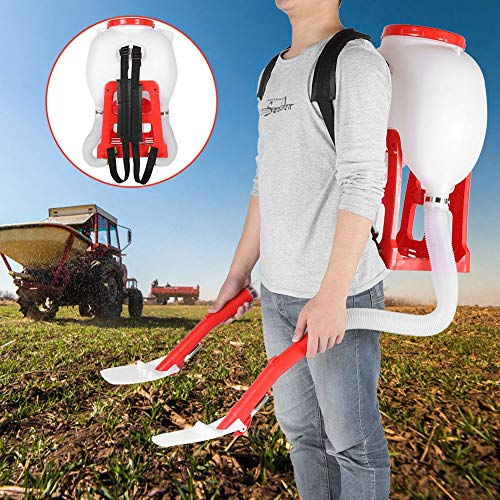 Check Out This TOPINCN 20L Backpack Manual Seed Spreader,Large Capacity Fertilizer Garden Seeding To...