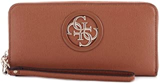 Luxury Fashion | Guess Womens SWVG7186460BROWN Brown Wallet | Spring Summer 19