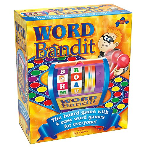 Drumond Park Word Bandit Familien-Brettspiele für Kinder | Lernspiel für Kinder ab 8 9 10 11 12 Jahre