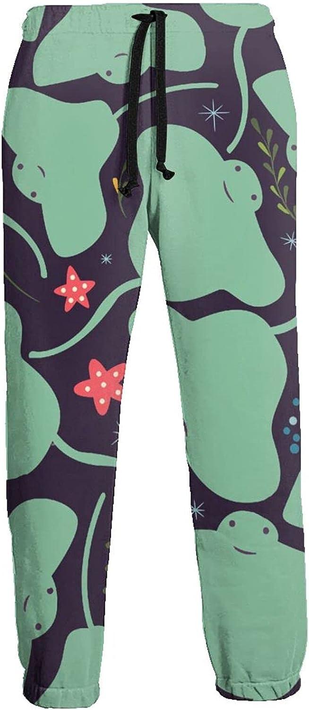 Active Sweats Jogger Pants Sea Cute Jellyfish Running Joggers Casual Sweatpants for Men Women