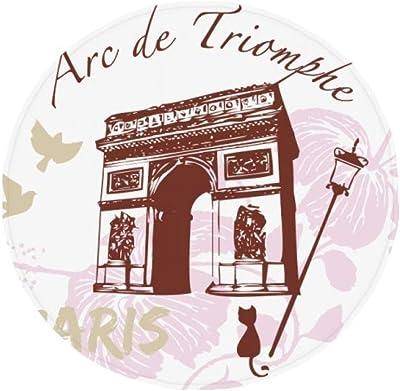DIYthinker Arco de Triunfo de París Francia Landmark ...