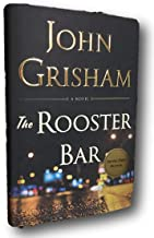 Rare The Rooster Bar ✍SIGNED✍ by JOHN GRISHAM New Hardback 1st Edition First Printing