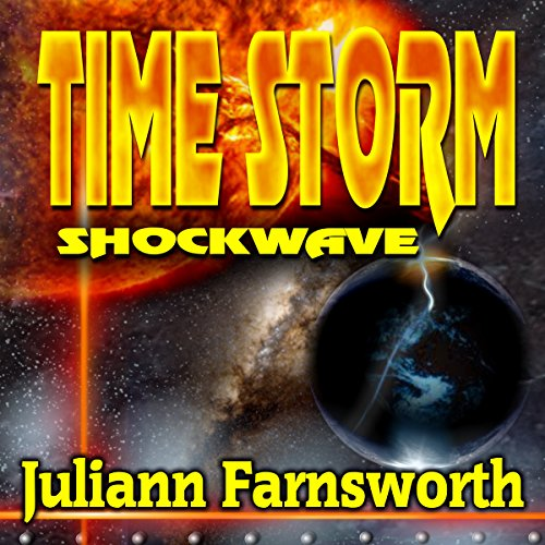 Time Storm Shockwave audiobook cover art