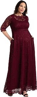 Kiyonna Women's Plus Size Leona Lace Gown