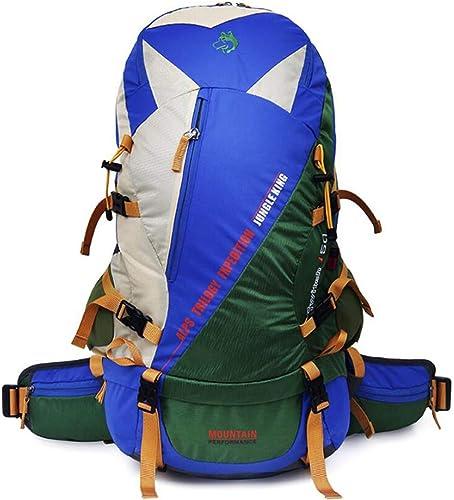 LXYIUN Sac à Dos De Voyage,Extérieur Camping La Montée Grande Capacité Backpack,vert