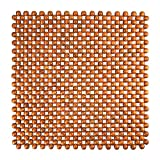 Handmade Natural Wooden Beaded Cooling Car Seat Cushion Mat Square Comfort Massaging Car