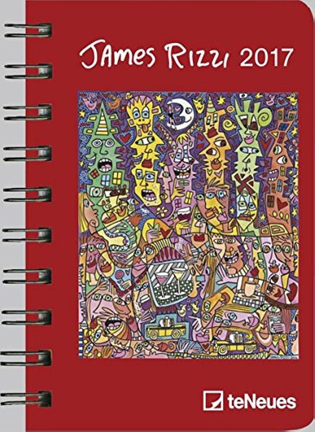 漫画私たちの年金Rizzi 2017 Taschenkalender Deluxe klein