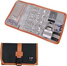 Travel Organizer, BUBM Cable Bag/USB Drive Shuttle Case/Electronics Accessory Organizer-Black
