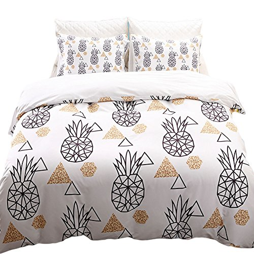 Black Temptation Inicio Impreso Soft Hotel Duvet Cover Set 2PC Twin Size #154
