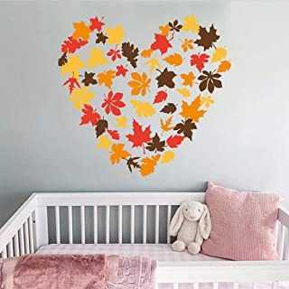 leaf stickers for walls
