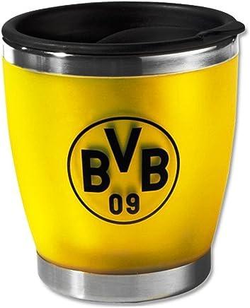 Preisvergleich für Borussia Dortmund Thermobecher / Kaffee Becher / Tasse - Coffee to go gelb BVB 09 - plus gratis Aufkleber forever Dortmund