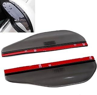 Universal Black Car Rain Sun Visors for Fiat Stilo Doblo Uno Sedici Qubo Bravo Linea Albea