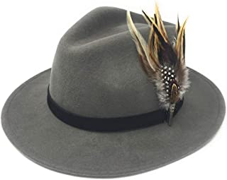 Arlington Showerproof Cotswold Country Hats Wool Brown Fedora Hat