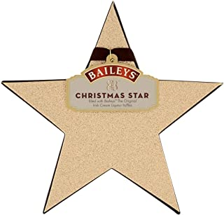Baileys Christmas Star Irish Cream Milk Chocolate Truffles, 56G
