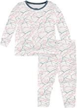 KicKee Pants Long Sleeve Piece Print Pajama Set | Oceanography Collection |