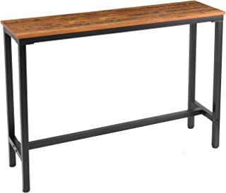 """Mr IRONSTONE 55.1"""" Bar Table Pub Dining Height Table Vintage Bistro Table (Indoor USE ONLY)"""