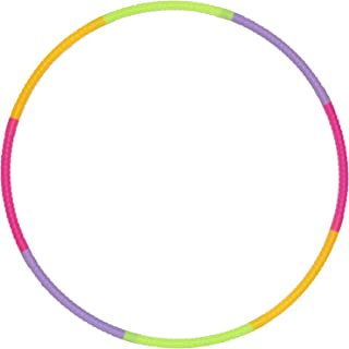 Ratna's Classic Hula Hoop Consists of 8 Inter-Lockable Pieces (Multicolour)