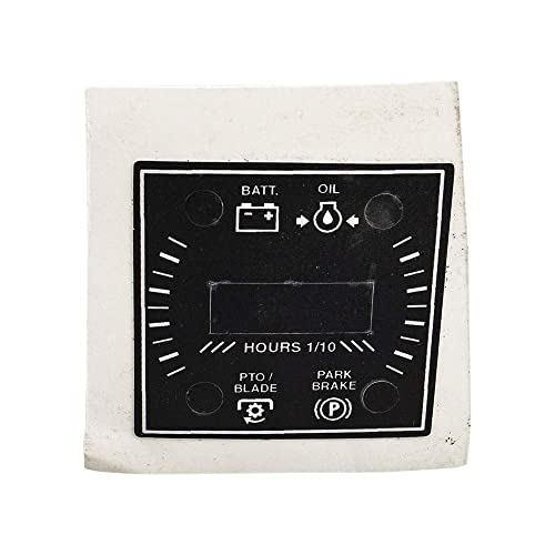 Hour Meter for Lawn Mower: Amazon com