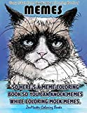 Easy Adult Color By Numbers Coloring Book of Memes: A Memes Color By Number Coloring Book for Adults of Humor and Entertainment for Relaxation and ... Color By Number Coloring Books) (Volume 64)