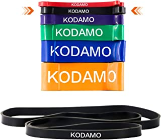 KODAMO Pull-Up Assist Bands- Heavy Duty Resistance Bands, Perfect Body Stretching, Powerlifting, Resistance Training