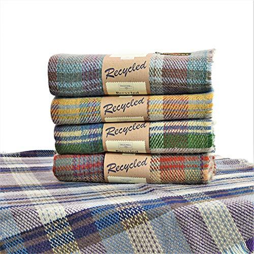 Tweedmill Eco Friendly All Wool Throw Blanket