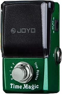 JOYO JF-304 Guitar Effect Pedal, Ironman Series Mini Pedal, Time Magic Guitar Delay Effect Pedal, Single Effect