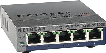 NETGEAR ProSafe 5-Port Gigabit Unmanaged Plus Switch GS105E