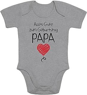 Shirtgeil Alles Gute Zum Geburtstag Papa - Vater Geschenk Baby Body Kurzarm-Body