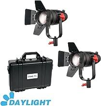 2 Pcs CAME-TV Boltzen 30w Fresnel Fanless Focusable LED Daylight Kit