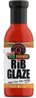 Kosmos Q Cherry Apple Habanero Rib Glaze | Sweet & Spicy Marinade | Just Brush or Mix It!