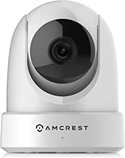 Amcrest 4MP UltraHD Indoor WiFi Camera, Security IP Camera with Pan/Tilt, Two-Way Audio, Night Vision, Dual-Band 5ghz/2.4g...