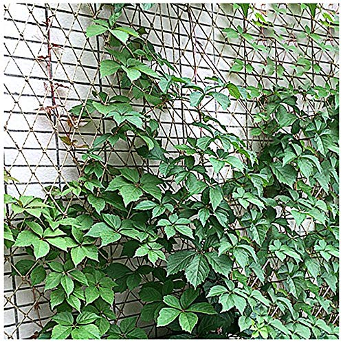 Hemp Rope Net 8mm*10cm Child Safety Net, Stairway Safety Net, Protective Net Outdoor Construction Safety Net Playground Fence Fence Net 1*2M Plant Crawling Net Balcony Stair Safe(Size: 2*10m(7*33ft))