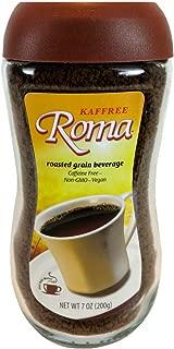 Kaffree Roma - Caffeine Free Roasted Grain Beverage, Rich Coffee Flavor, 7 Oz