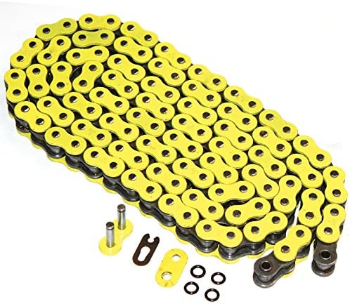 Caltric O-Ring Yellow Drive Chain Lowest price challenge Gsxr Suzuki 60 Compatible with Brand Cheap Sale Venue