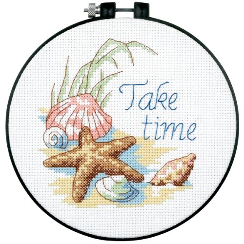 Dimensions Needlecrafts Counted Cross Stitch, Take Time
