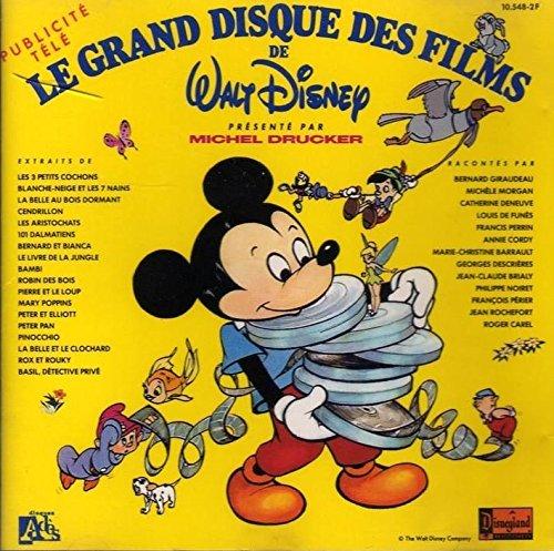 Le grand disque des films de Walt Disney présenté par Michel Drucker
