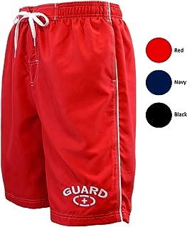 Men's Guard Swimsuit Board Shorts Swim Trunks Mesh Liner