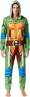 Men's Leonardo Ninja Turtle Costume Body Suit Pajama