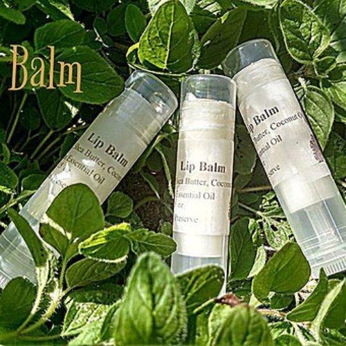 All Natural Lemon Lip Balm 4-pack