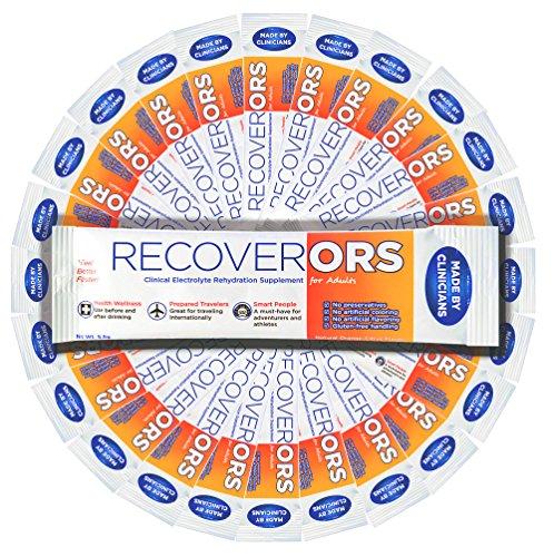 RecoverORS | Anti kater medicijnen | Hangover | Elektrolyten | 25 verpakkingen