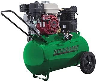 Speedaire 20 gal. 5.5 HP Barrel Portable Gas Air Compressor 4B241-1 Each