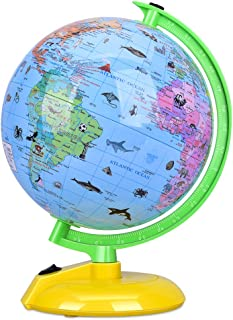 Illuminated World Globe for Kids, 8