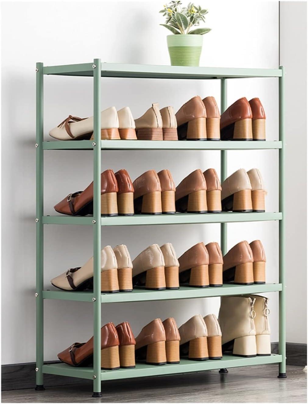 LOMJK Shoe Max 66% OFF Racks Metal Rack 5% OFF Freestanding To Economical