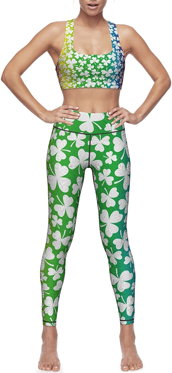 Beautiful Max 60% OFF St. Patrick's Day Rinbow Shamrock Women's Worko Department store Clover