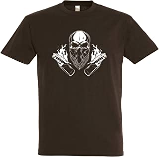 Herren T-Shirt Ultras Skull S bis 5XL
