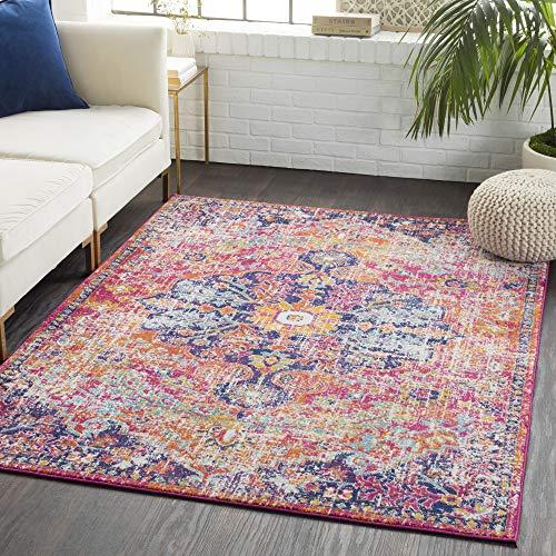Artistic Weavers P Odelia Vintage Bohemian Area Rug, 9 Feet x 12 Feet 6 Inch, Pink/Orange