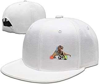 3032ca58cc001 Unisex Adjustable Mens Womens Hats Cool ARK Survival Evolved Snapback  Flatbrim Sun Hats Hip Hop Baseball