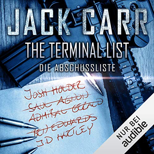 THE TERMINAL LIST - Die Abschussliste audiobook cover art