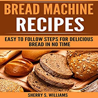 Bread Machine Recipes cover art